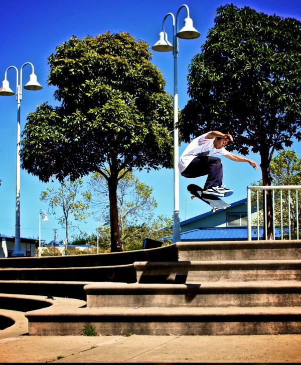 Josh Paz - Front Shuv (photo: Lanny Headrick)