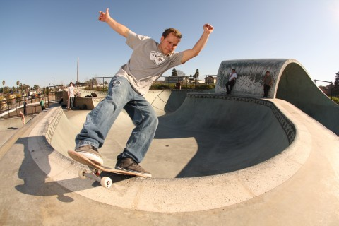 Zach Richesin - Santa Cruz Park - Lipslide (photo: Scotty Watson)