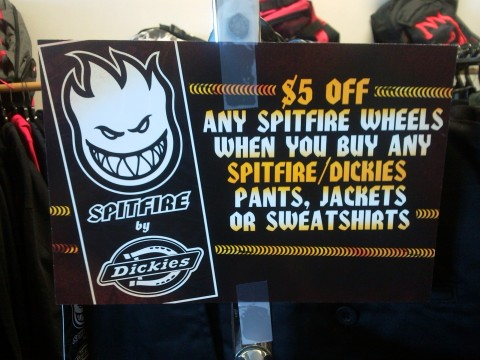 Dickies Spitfire Collab Deal