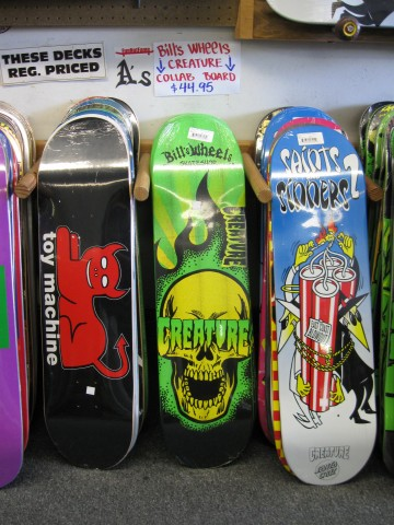 Creature Bill's Wheels Collab Deck