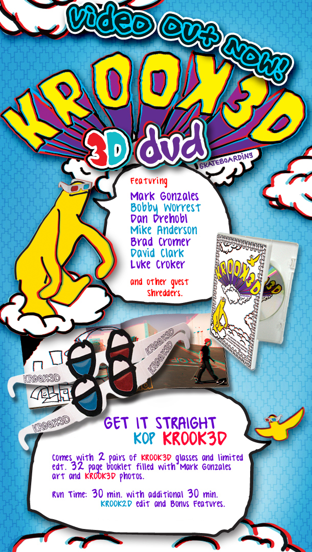 Krooked 3D NOW IN at Bill's!