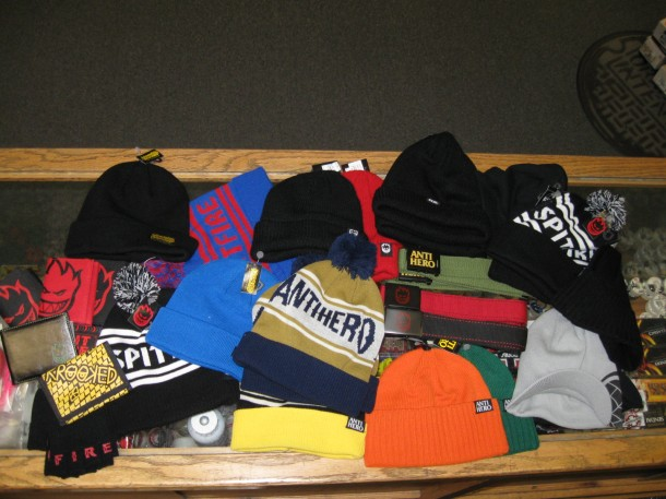 New Antihero and Spitfire Beanies