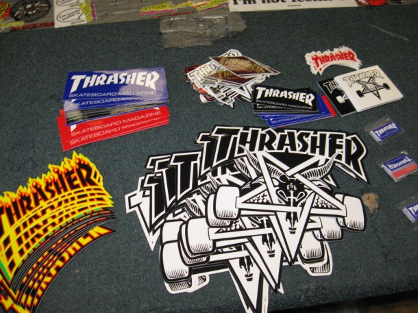 Thrasher Stickers