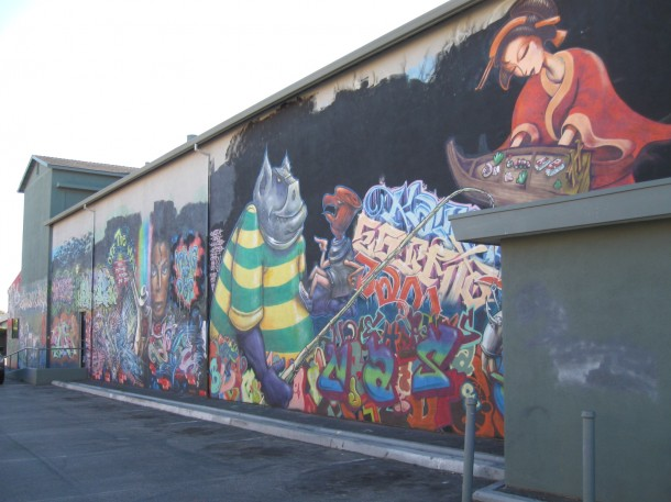 Graffiti Wall 2010