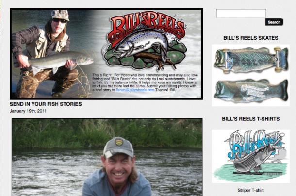 Bill's Reels Site