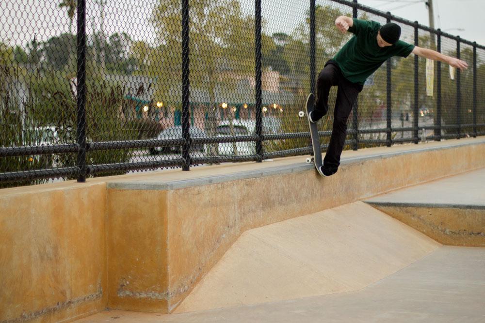 Tommy Werner - Blunt Slide Pop In photo: Luu