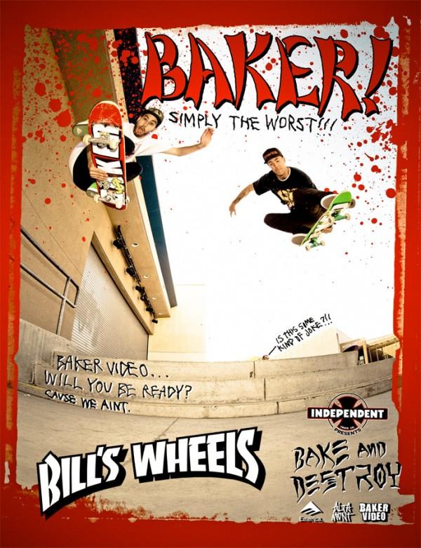 Baker Skateboards Bake and Destroy